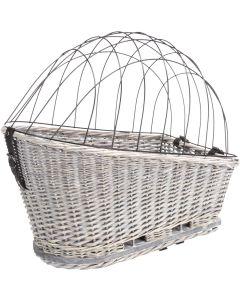Trixie Korg Pakethållare Grå. Stabil cykelkorg för pakethållare.