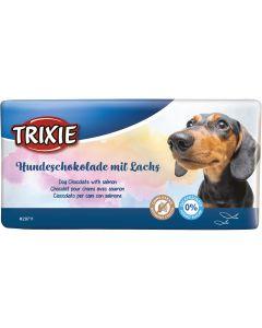 Hund Chokladkaka Lax. Hundchoklad med smak av lax.