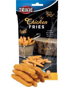 Gourmet Food Chicken Fries. Pommes Frites till hund.