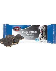 Black & White Cookies. Hundkakor med kyckling.
