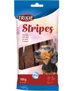 Stripes with Beef. Tugg-stix med smak av oxkött.