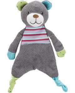Trixie Jr Leksak Björn 28cm. Platt björn med pipljud och prasselfolie.