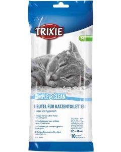 Påsar för kattlådor som förenklar rengöring