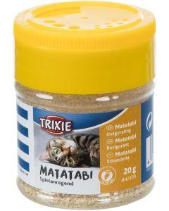 Trixie Matatabipulver 20 gram. Uppiggande matatabi för leksaker och klösmöbler.