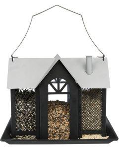 Trixie Fågelmatare Villa 2L. Vildfågelmatare med 3 separata matningsboxar.