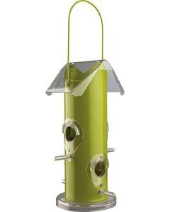 Trixie Frödispenser Grön. Stilren fågelmatare med fyra landningspinnar.