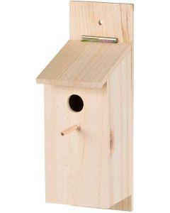 Trixie Fågelholk Byggsats. Rolig byggsats med lim, plugg och träklubba.