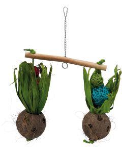 Gungbräda med majsblad och pil