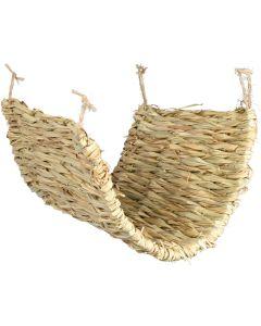 Trixie Gräshängmatta 40x28 cm. Ätbar hängmatta för degu och råtta.