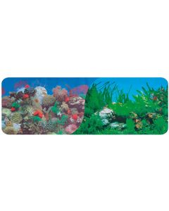 Bakgrundsplansch till akvarium