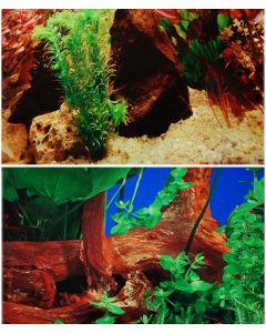 Vacker akvariebakgrund i löpmeter