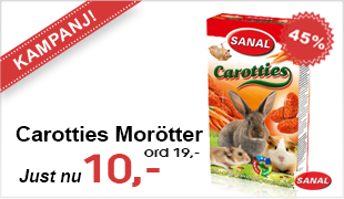 Sanal Carotties Morötter 45g