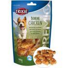 Smakrikt hundgodis med torkad kyckling och banan