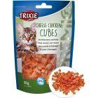 Sockerfri kattgodis med kyckling och ost