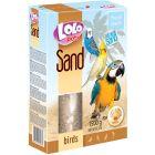 Lolo Sand Birds Shell 1500g. Naturlig fågelsand med ostronskal.