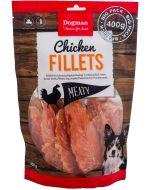 Helt naturlig torkad kycklingfilé
