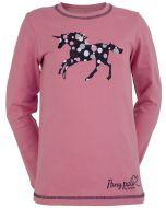 Rosa långärmad t-shirt i mjuk och skön kvalité