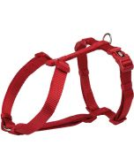 Trixie H-sele Röd. Smidig hundsele av nylon i hög kvalitet .