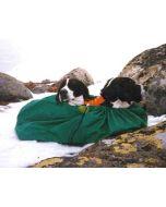 Vind och vattentät vilopåse för hund