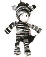 Söt och mjukt gosedjur zebra