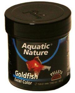 Komplett granulatfoder för guldfiskar och slöjstjärtar