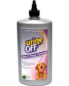 Urine Off Dog Bullet. Effektiv rengöring mot urin på mjuka ytor.