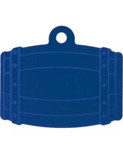 ID-Bricka Tunna. Dekorativ ID-bricka med valfri gravyr.