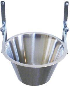 Väggmonterad ställning för en matskål