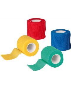Självhäftande och elastisk bandage