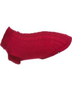 Trixie. Kenton Pullover Röd. Skön och bekväm hundtröja i akryl.