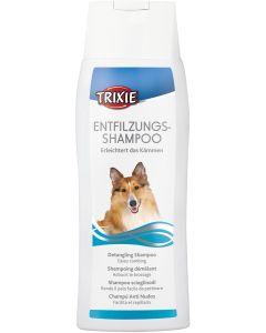 Tovutredande shampoo för långhåriga hundar