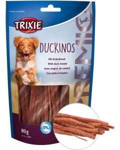 Läckra sockerfria hundtugg med ankbröst