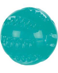 Flytande boll med mintsmak