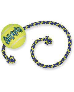 Tennisboll med rep och pipljud