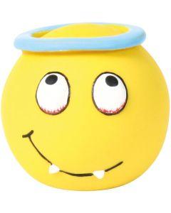 Latexboll med roliga smiley och pip