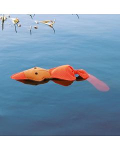 Flytande leksak som syns bra på vattenytan