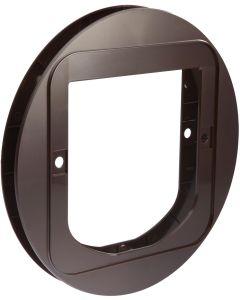 Monteringsadapter för installation i glasdörrar och fönster