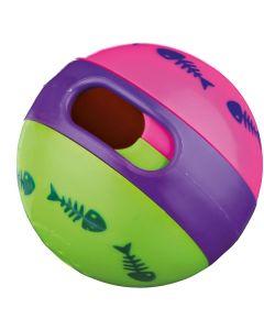 Färgglad aktivitetsboll för katt