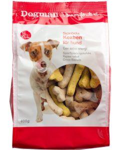 Sprödbakade frasiga snacks din hund