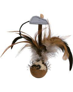 Boll med kvittrande fågelsång