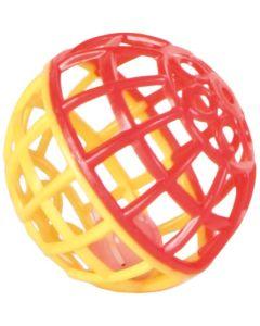 Nätboll av plast med bjällra