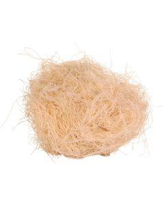 Helt smältbart bomaterial av bomullsfibrer
