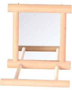 Spegel för upphänging på burgaller