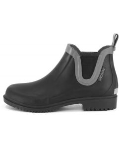 Vattentät sko med fina detaljer i kontrast