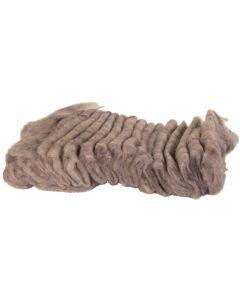 Ätbart och lättsmält bomaterial av bomull
