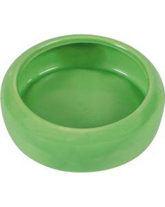 Trixie keramikskål. Färgglad matskål med antispill kant.