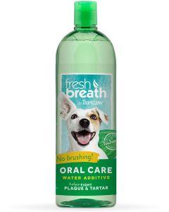 Vattentillsats för god andedräkt och friska tänder
