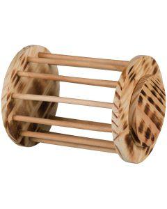 Rullande höhäck tillverkad av trä