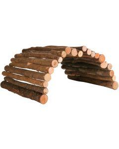 Smidig träbro som kan böjas till valfri form