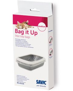 Praktiska och hygieniska påsar till kattsandlådan